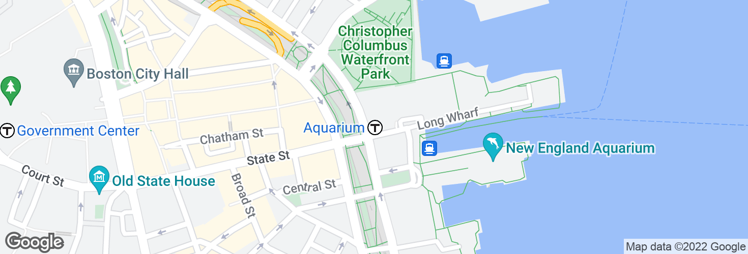 Map of Aquarium and surrounding area