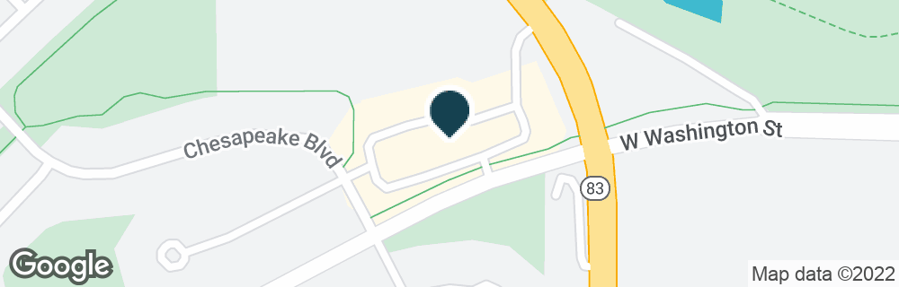 Google Map of460 E WASHINGTON ST