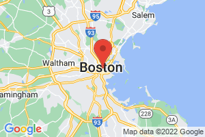 Map of Boston Area