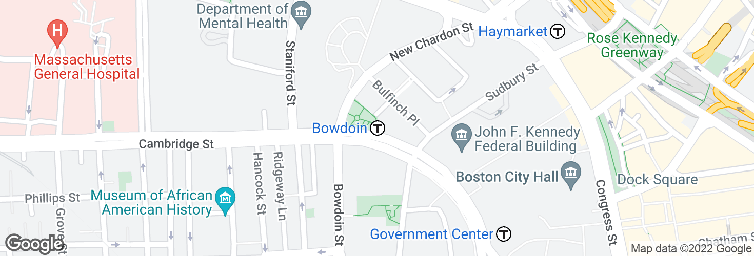 Map of Bowdoin and surrounding area
