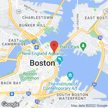 Map of Frank Campo, DPM at 260 North Street, Boston, MA 02113