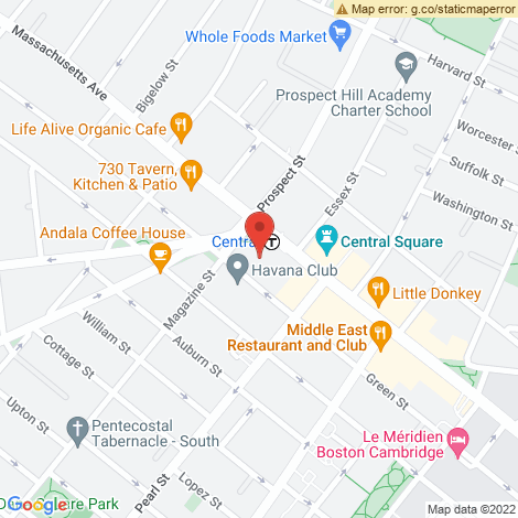 Hair Like Beauty Salon @ Cambridge - Location Map