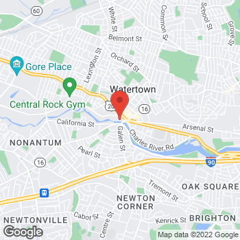 Map of Haley Ashworth, PA at 9 Galen Street, Watertown, MA 02472
