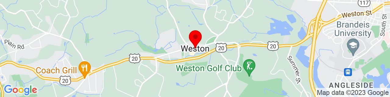 Google Map of 42.3667625, -71.3031132