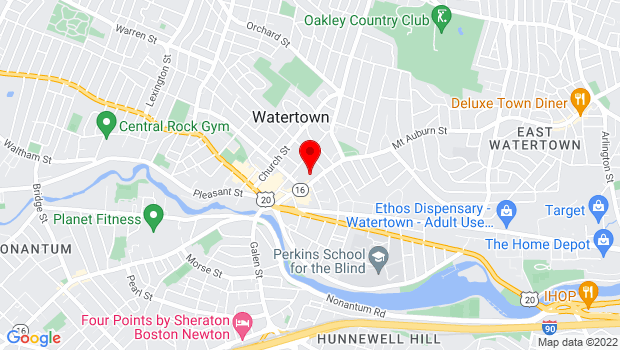 Google Map of 80 Mt. Auburn Street, Watertown, MA 02472