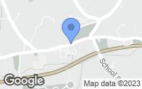 Map of Weston, MA