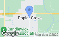 Map of Poplar Grove, IL