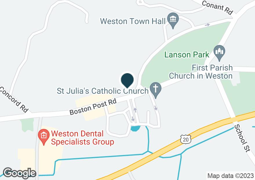 Google Map of397 BOSTON POST RD