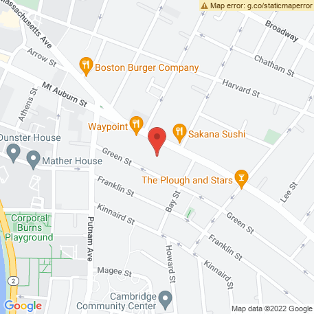 Houghton Group on Map (1008 Massachusetts Ave, Cambridge, MA 02138) Map