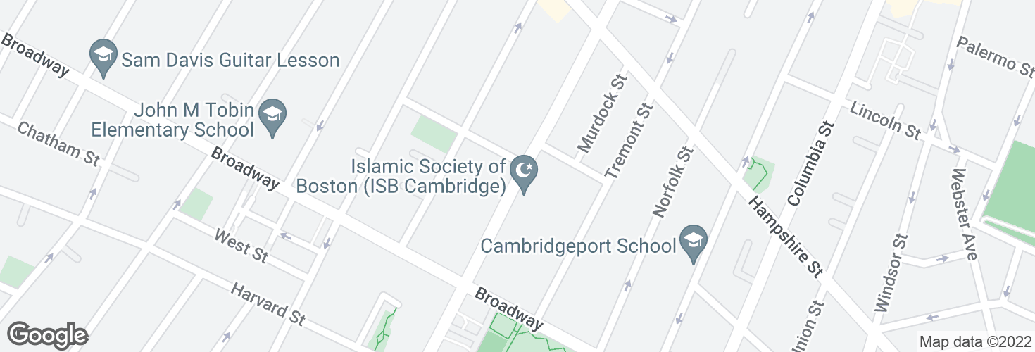 Map of Prospect St @ St Mary Rd and surrounding area