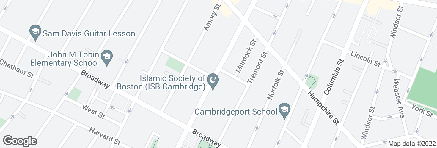 Map of Prospect St @ Gardner Rd and surrounding area