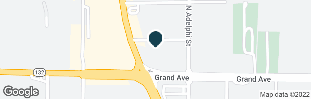 Google Map of709 N GREEN BAY RD