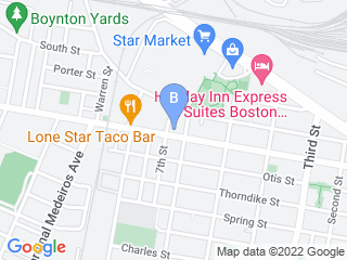 Map of Boston Dog Company Dog Boarding options in Cambridge | Boarding