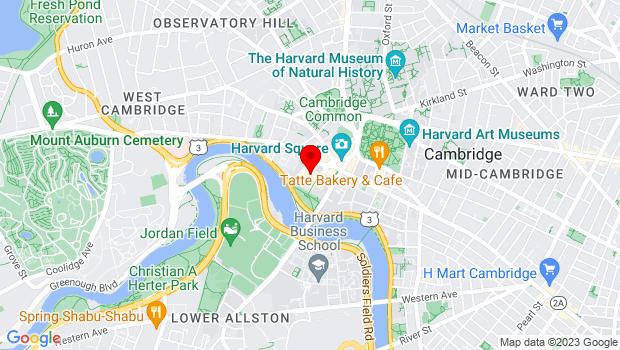 Google Map of One Bennett Street, Cambridge, MA 02138