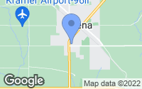 Map of Lena, IL