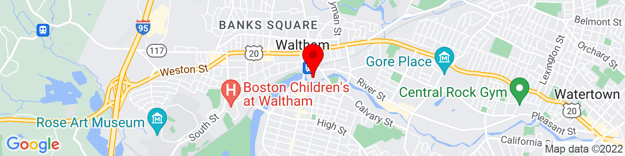 Google Map of 42.3730012, -71.2349356