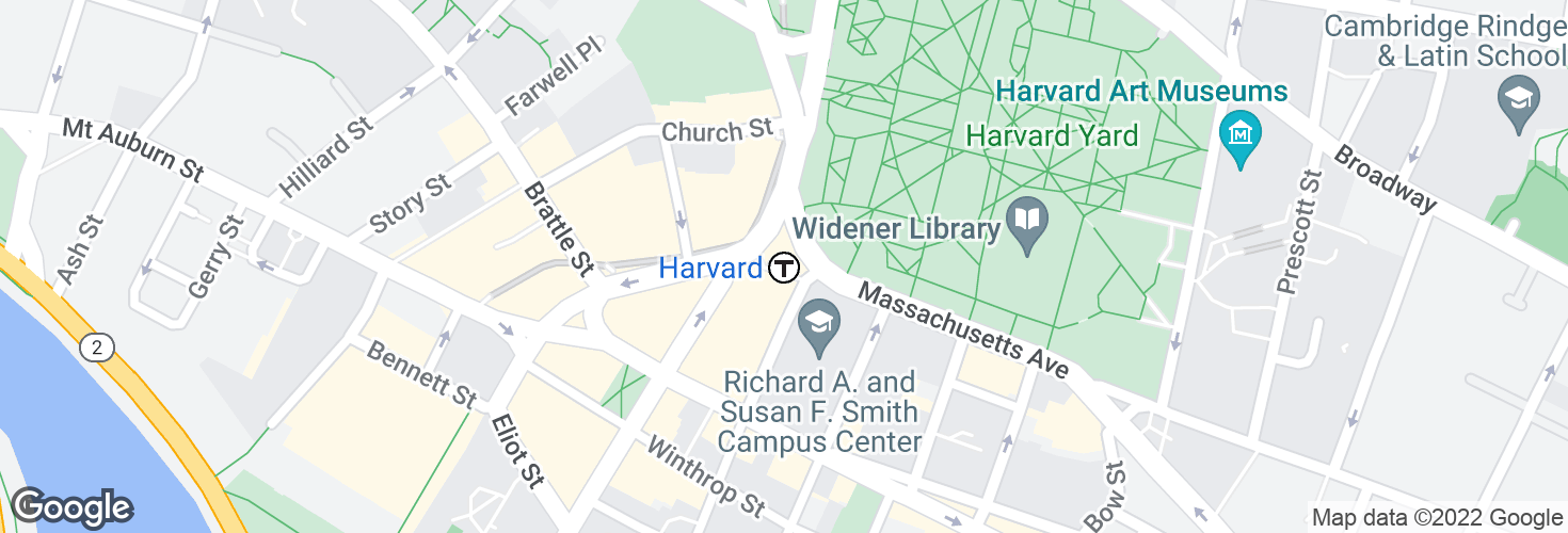 Map of Harvard and surrounding area