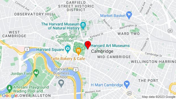 Google Map of 32 Quincy Street, Cambridge, MA 02138