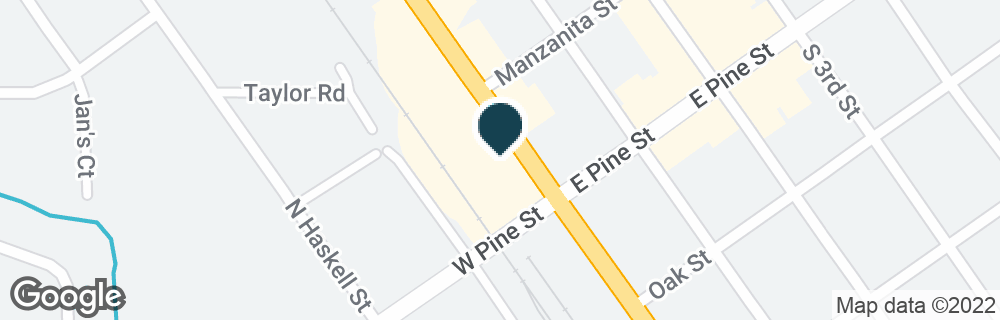 Google Map of43 N FRONT ST
