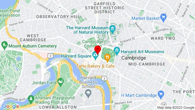 Google Map of 47 Palmer Street, Cambridge, MA 02138