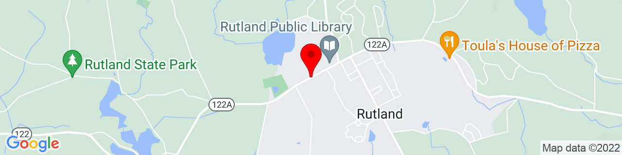 Google Map of 42.3742483, -71.96024630000001