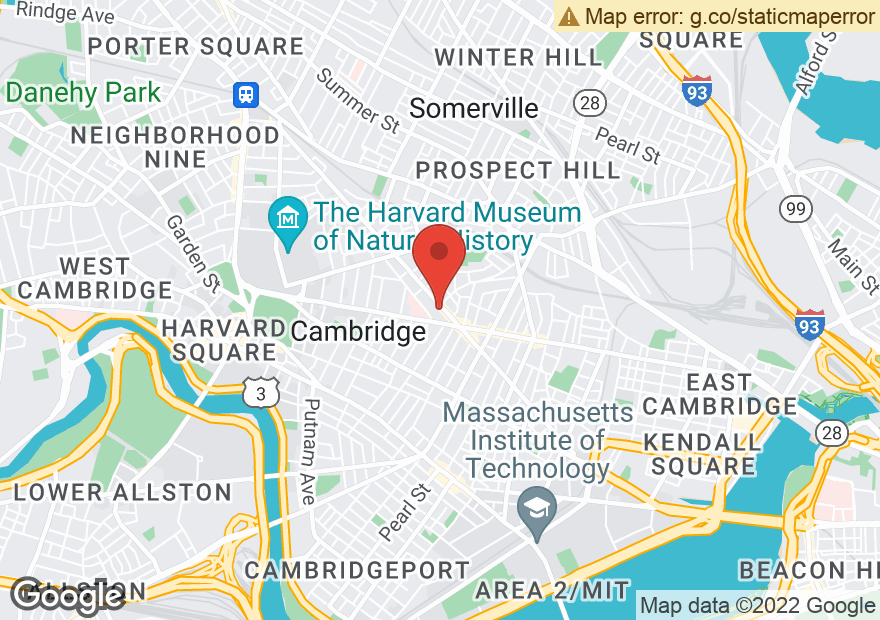 Google Map of 16 BEACON ST
