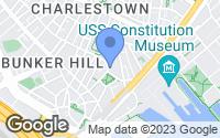 Map of Boston, MA