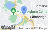 Map of Cambridge, MA