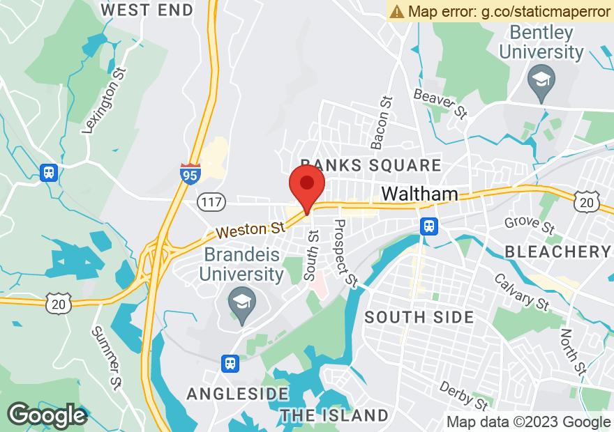 Google Map of 20 WESTON ST