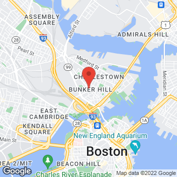 Map of Hair Cuttery at 5 Austin Street, Charlestown, MA 02129