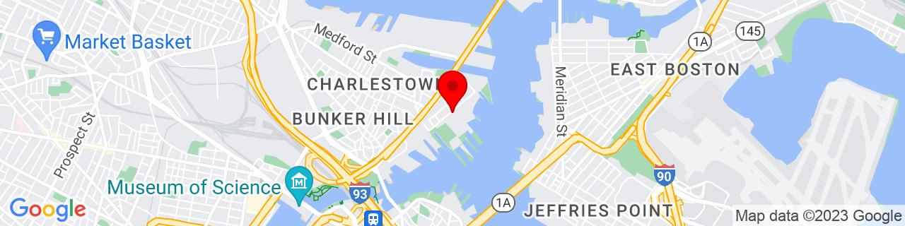 Google Map of 42.3760751, -71.0523745