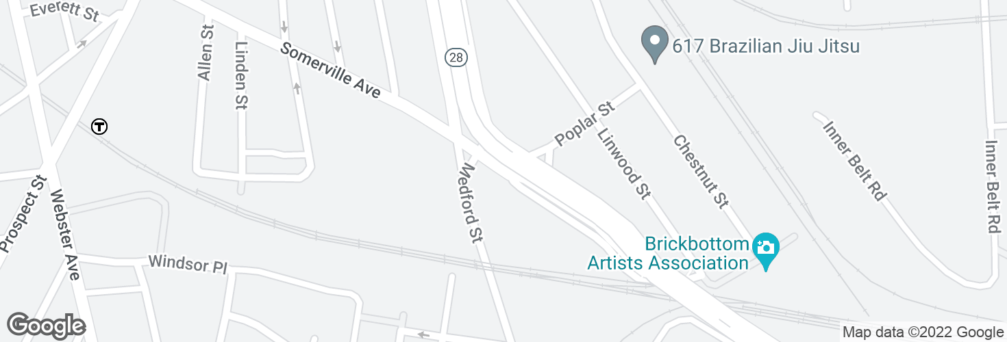 Map of McGrath Hwy @ Medford St and surrounding area