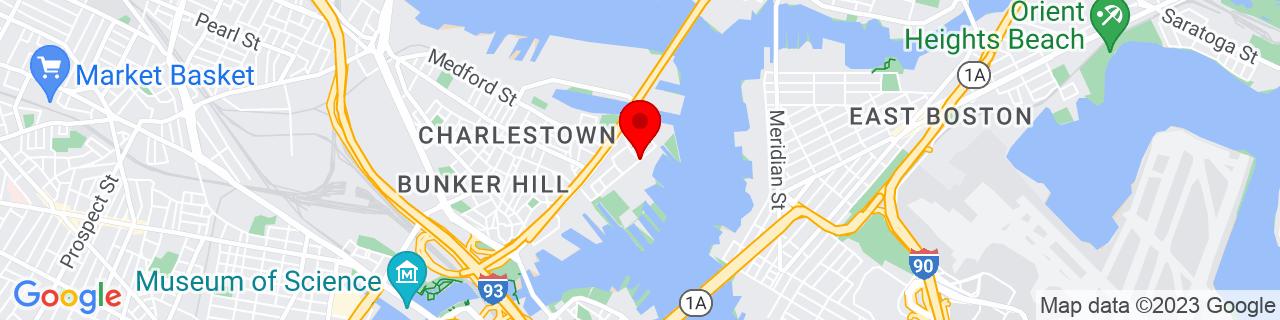 Google Map of 42.3770377, -71.0510044
