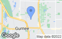 Map of Gurnee, IL
