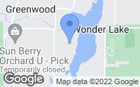 Map of Wonder Lake, IL