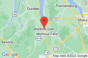 Map of Watkins Glen