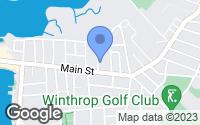 Map of Winthrop, MA