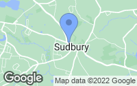 Map of Sudbury, MA