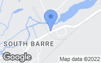 Map of Barre, MA