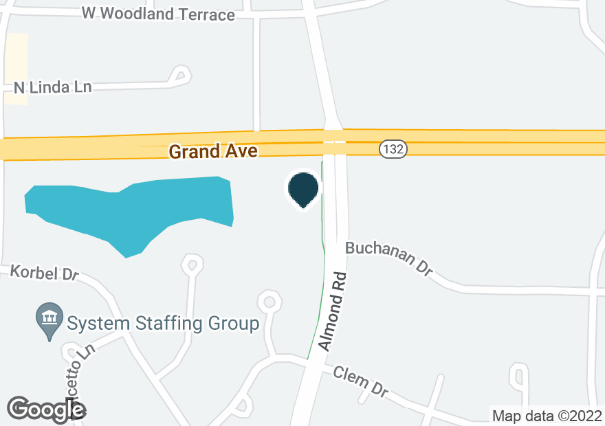 Google Map of7501 GRAND AVE