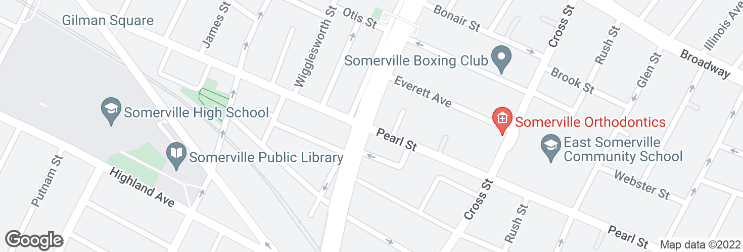 Map of Pearl St @ McGrath Hwy and surrounding area