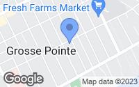 Map of Grosse Pointe, MI