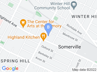 Map of Thoughtful Paws Pet Care Dog Boarding options in Somerville | Boarding