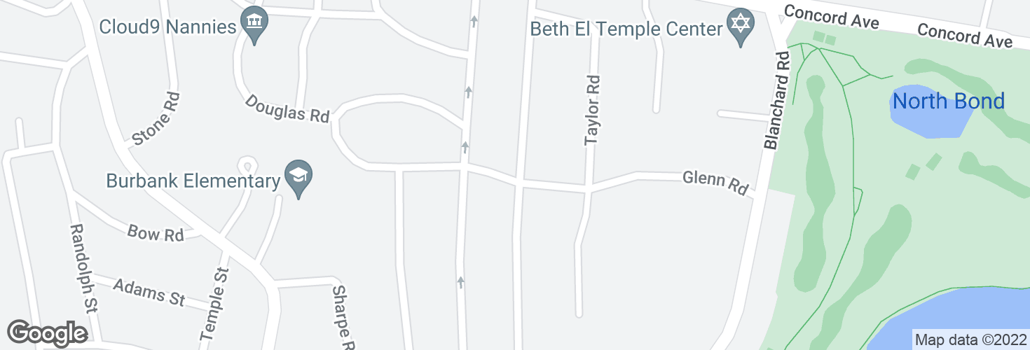 Map of Bright Rd @ Gale Rd and surrounding area