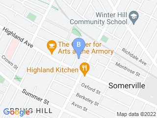 Map of Pet City Sitters Dog Boarding options in Somerville | Boarding