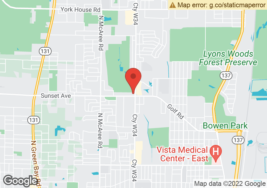 Google Map of 2200 N LEWIS AVE