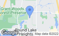 Map of Round Lake Heights, IL