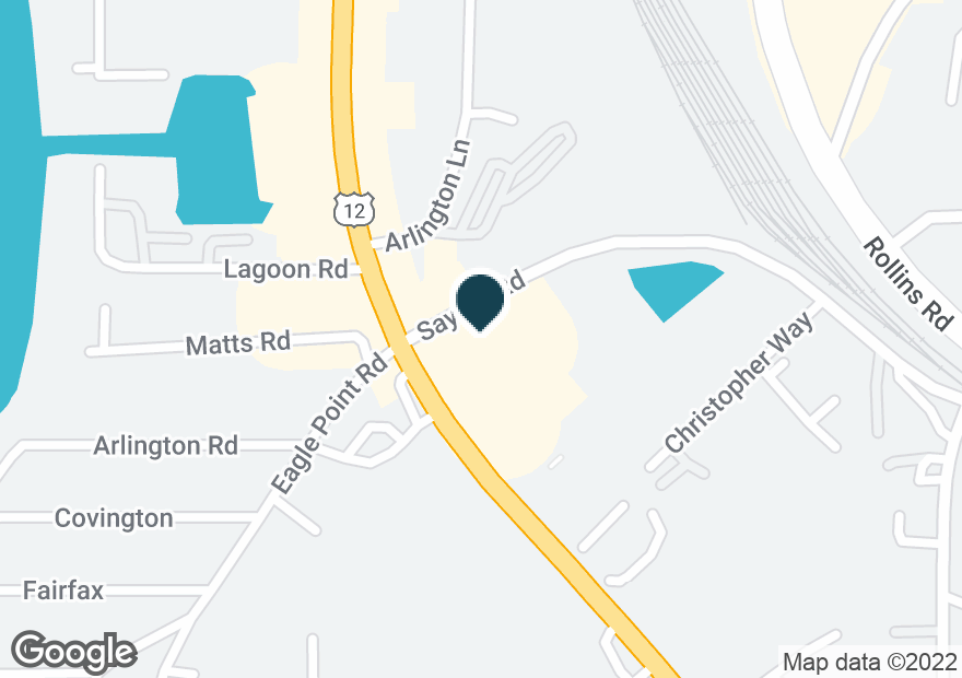 Google Map of61 S US HIGHWAY 12