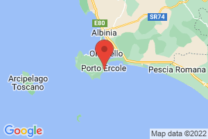 Map of Porto Ercole
