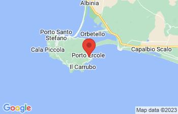 Map of Porto Ercole